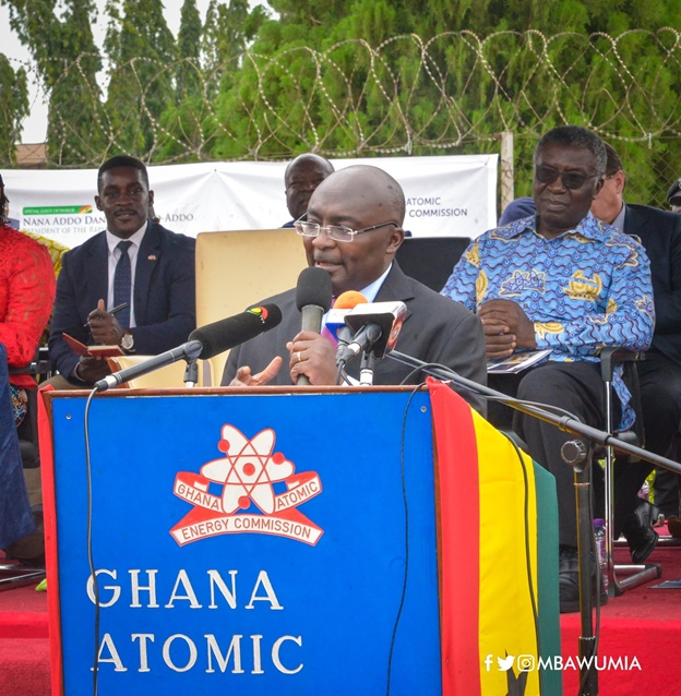 Ghana Atomic Energy Commission Is A Global Leader In Nuclear Research– VP Bawumia