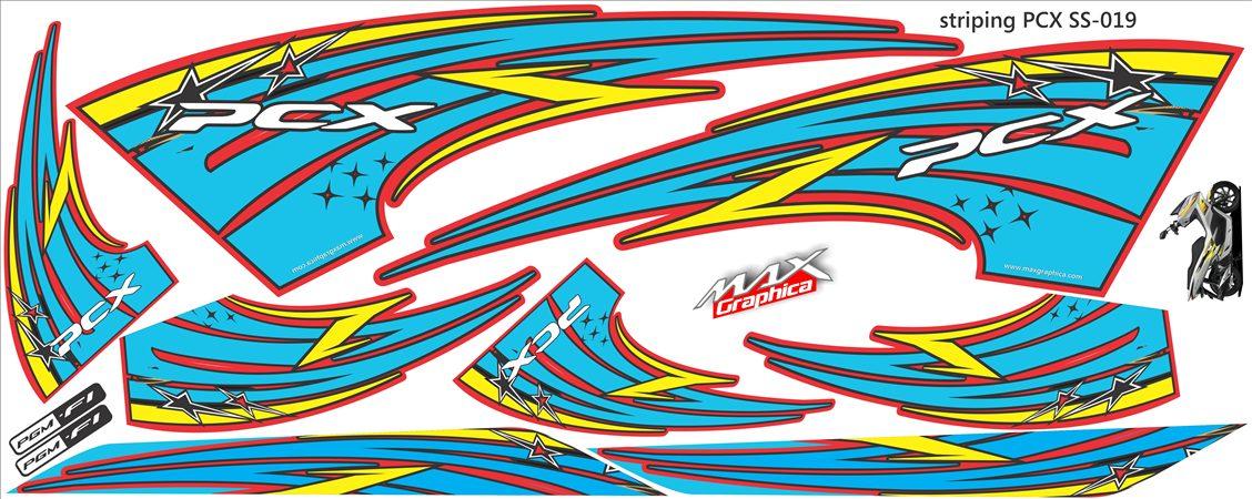 striping pcx grafis 1