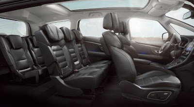 Renault Grand Scenic intérieur spacieux avec 7 places