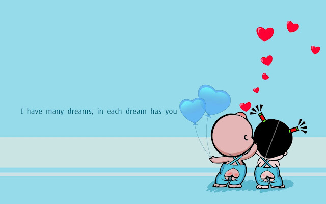 rose day wallpaper cartoon