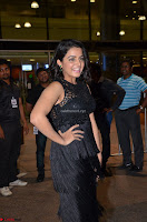 Wamiqa Gabbi in a sleeveless Black Designer Transparent Gown at 64th Jio Filmfare Awards South ~  Exclusive 039.JPG