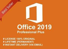 License Key Microsoft Office 2016/2019 Pro Plus Original