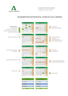 Calendario escolar 21-22