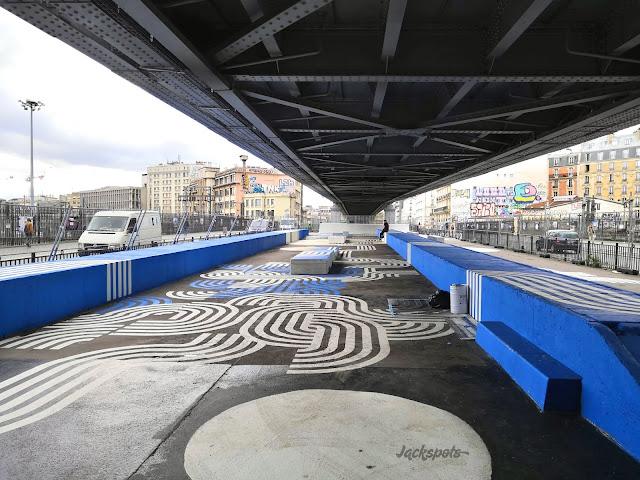 Nouveau skatepark paris barbes chapelle métro