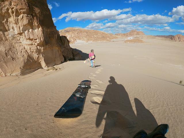 Sandboarding, take 2, Desertul Sinai, Egipt