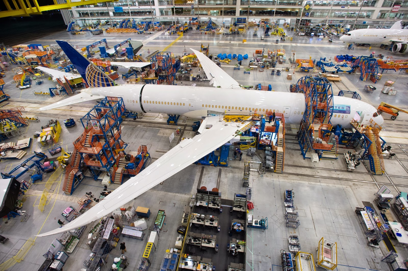 Centre Commercial Buld Air All Things 787 Boeing Announces The Start Of Final