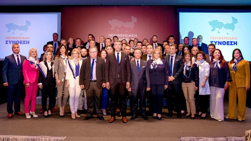 """Ο Χριστόδουλος Τοψίδης παρουσίασε στην Αλεξανδρούπολη τους υποψήφιους της """"Περιφερειακής Σύνθεσης"""""""