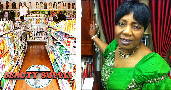 Rebecca Opong, founder of African Image Beauty Supply Salon