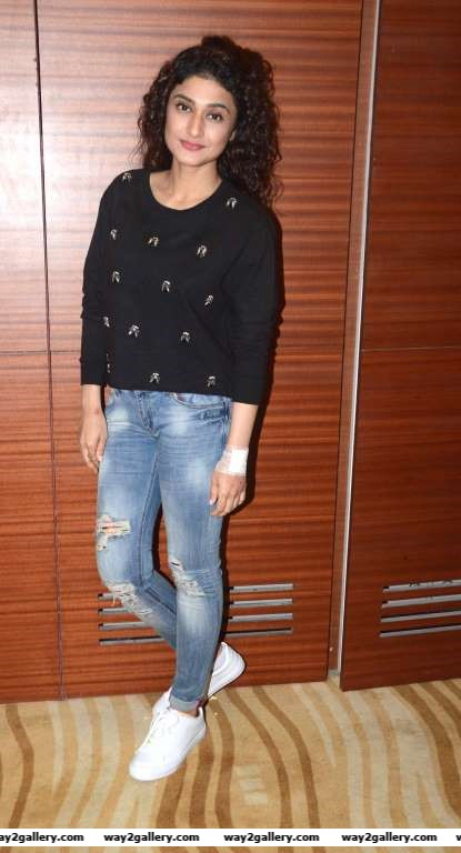 Ragini Khanna was among the TV stars at the special screening of Laal Rang