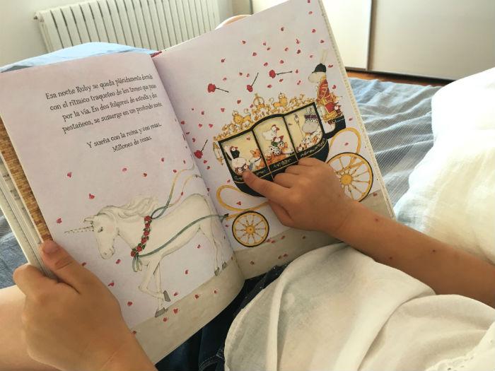 libro infantil edelvives,Ruby zapatos rojos, Kate Knapp primeros lectores