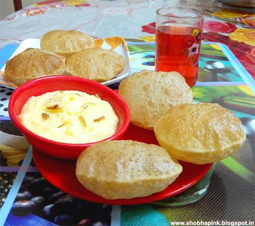 Shrikhand Puri