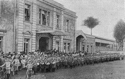 Estação ferroviária de limeira em 1917