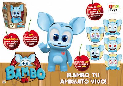 TOYS : JUGUETES - BAMBO Muñeco Electrónico Interactivo IMc Toys 2016 | Comprar en Amazon España