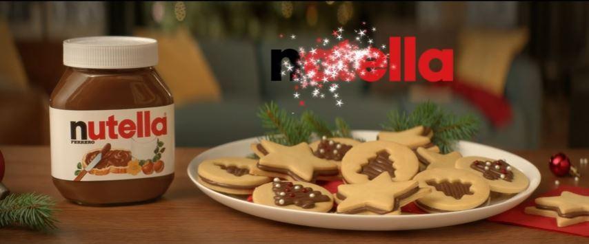 Pubblicità Nutella vivi la magia del Natale con Foto - Testimonial Spot Pubblicitario 2016