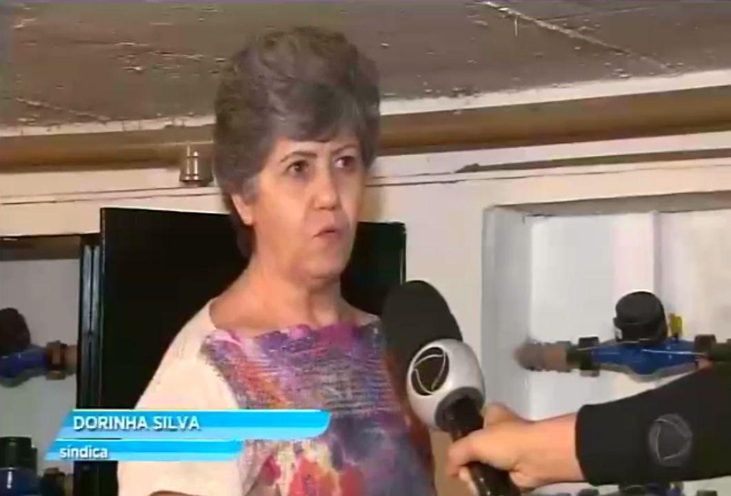 síndica Dorinha Silva do condomínio em Taguatinga Sul