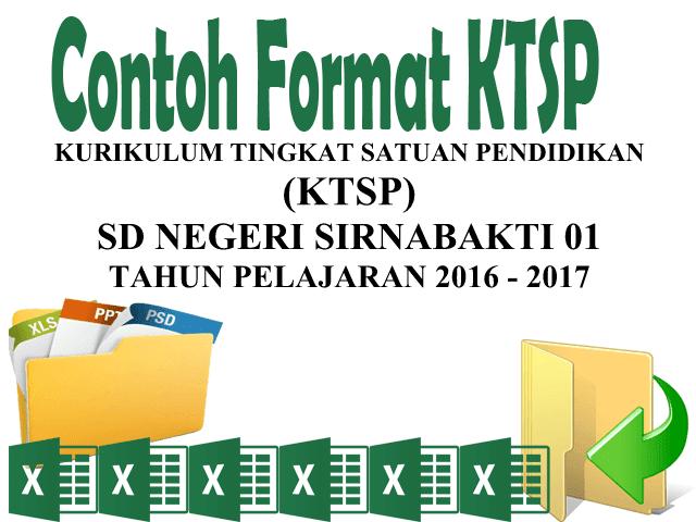 Download Contoh Format KTSP Terbaru 2016 / 2017