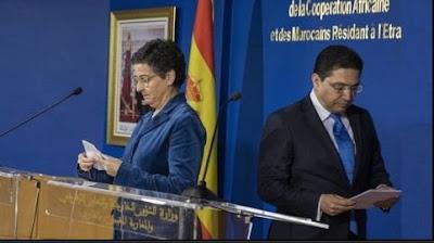 المغرب يعاقب اسبانيا بقرار جديد و يوجه رسالة للجزائر