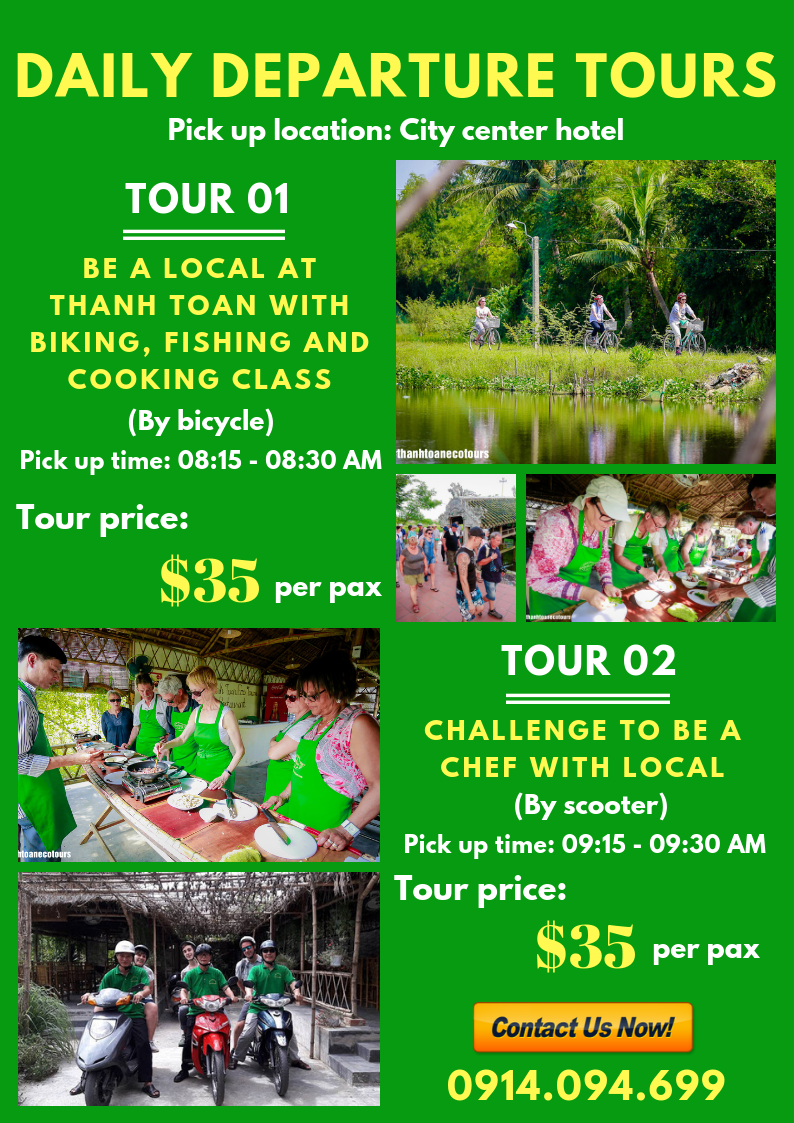 Thanh Toan Eco Tours in Hue