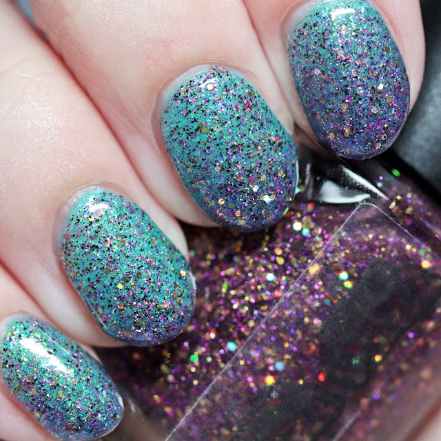 Treo Lacquer Queen Minnie over MTK Design Demon Flame