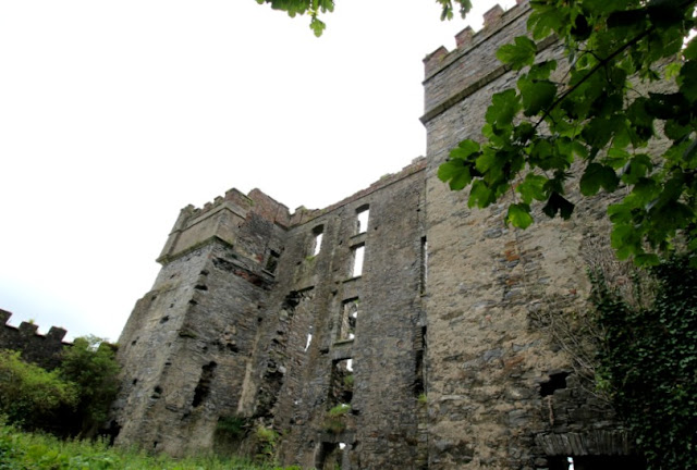 Side View of Raphoe Castle