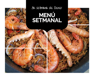 Not 2 late to craft: Menú 3a setmana gener / Menú 3a semana enero / Free weekly meal plan