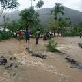Tagana Pantau Kondisi Banjir di Kecamatan Meukek dan Sawang