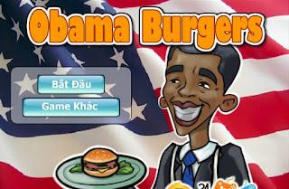 Game Obama vào bếp thú vị