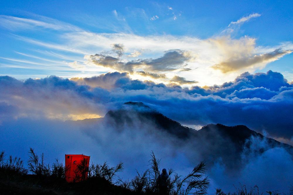Plawangan Sembalun an altitude 2639 meter of Mount Rinjani
