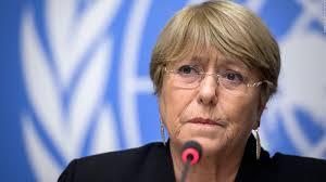 """Bachelet:""""Valoro esta decisión como un paso significativo en los esfuerzos en favor de la apertura del espacio democrático..."""""""