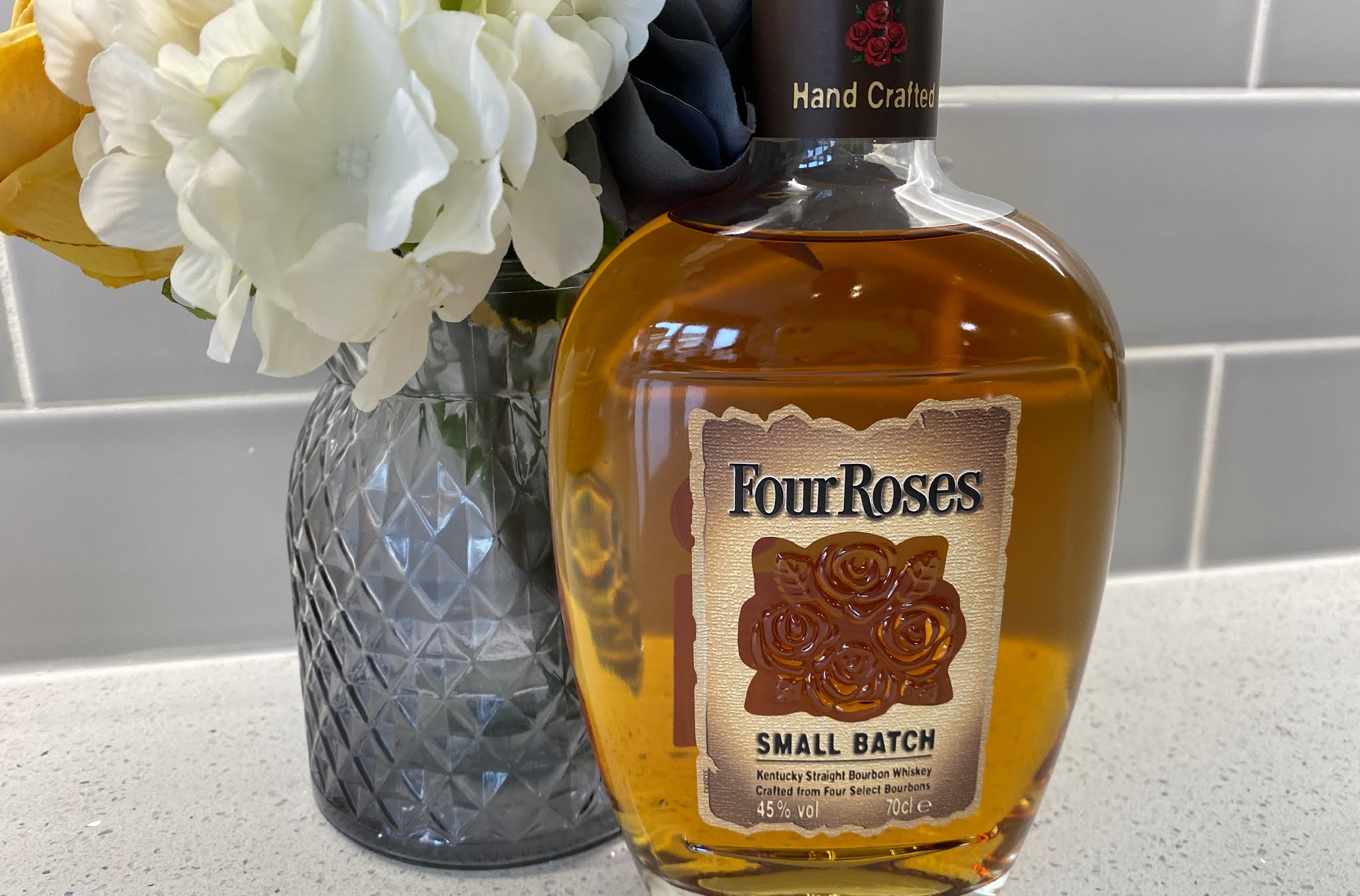 Bottle of Small Batch four roses