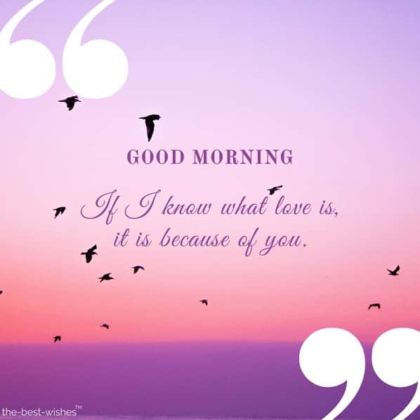 good morning love messages for my husband