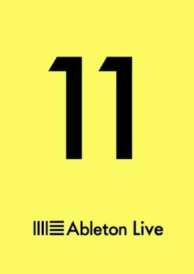 Cover da DAW Ableton Live 11 Suite v11.0.1