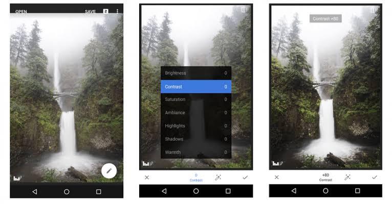 aplikasi edit foto iphone snapseed