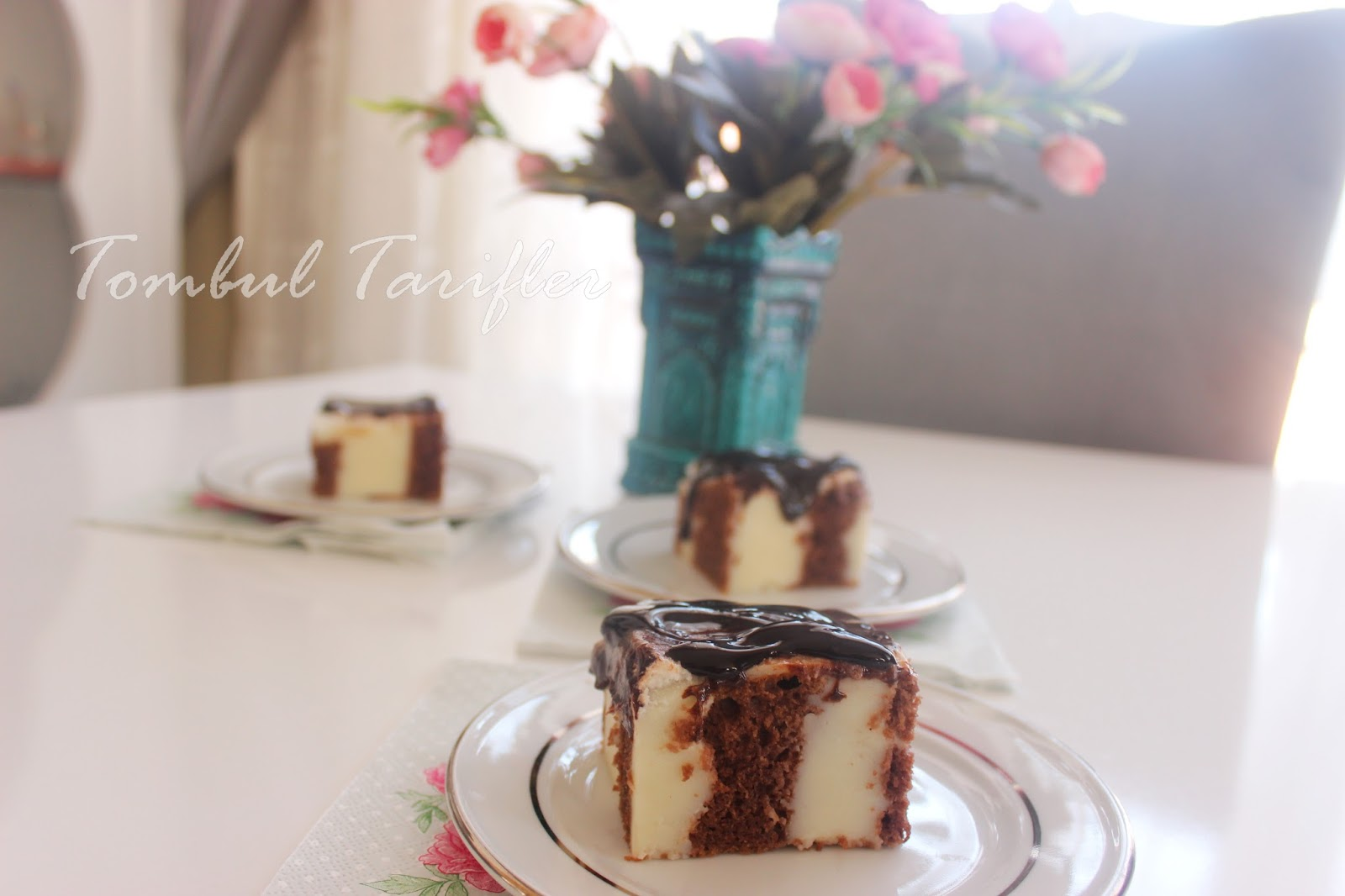 Soğuk Çikolatalı Dolgulu Pasta