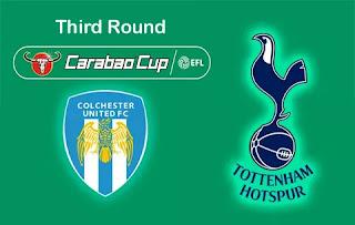 Колчестер Юнайтед – Тоттенхэм Хотспур смотреть онлайн бесплатно 24 сентября 2019 прямая трансляция в 21:45 МСК.