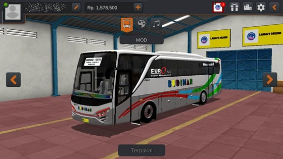 Livery JBHD2 New Setra MD Creation Budiman