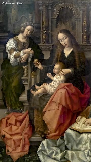 Detalle de la 'Virgen de la Mosca' - Toro, Zamora