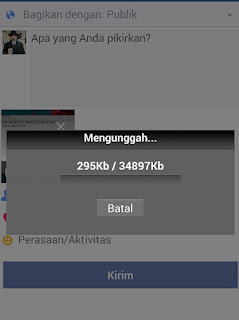 cara upload video ke fb di hp android