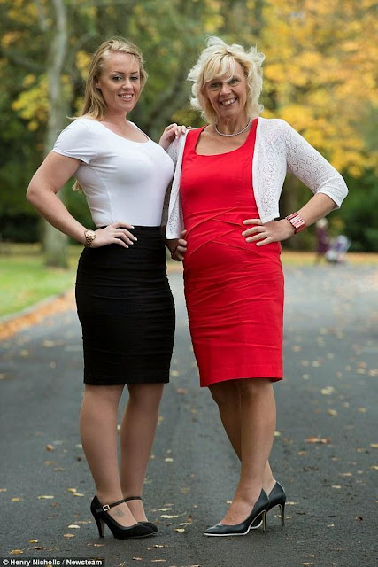 Η υπέρβαρη μητέρα που ζει στο Swadlincote της Βρετανίας και η κόρη της