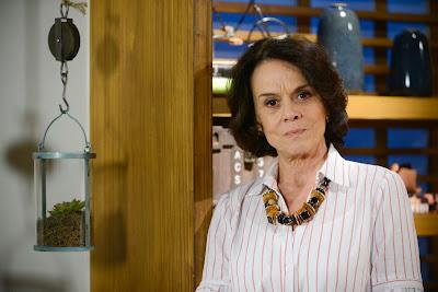 Clarisse Abujamra interpreta Glória, personagem com Alzheimer em As Aventuras de Poliana-  Zé Paulo Cardeal / SBT
