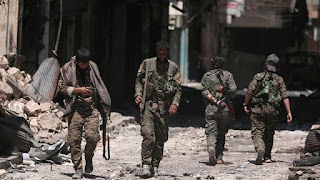 Syria's armed Forces has entered into manbij after they were invited  by Kurdish armed group to take control of the northern area and protect it from a threatened Turkish offensive.