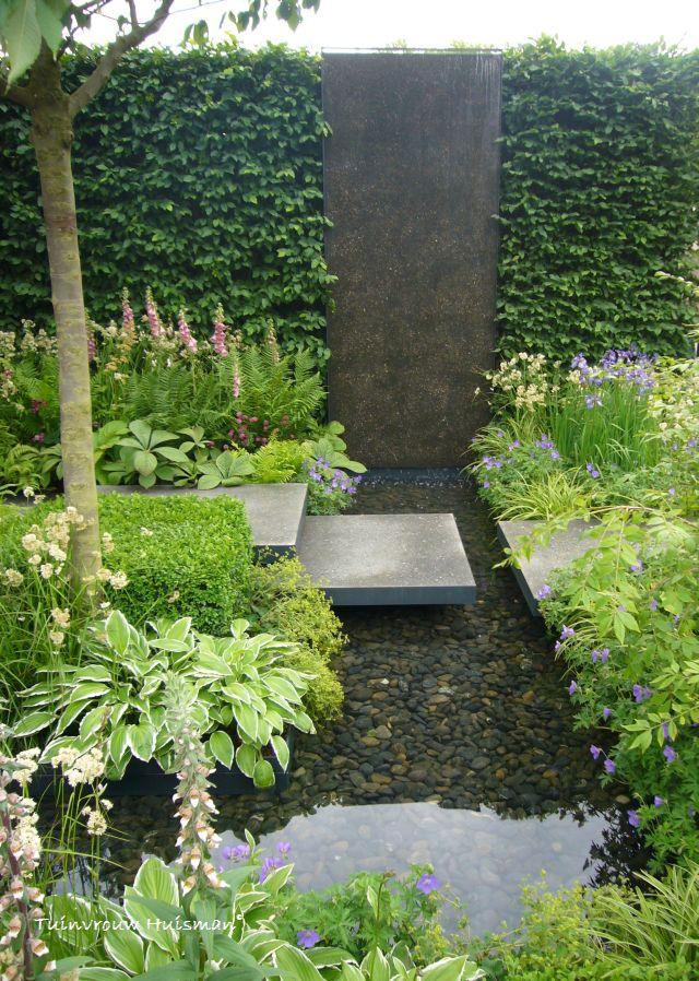 Geliefde Tuindesign: 20 Tips en tuinideeën voor een kleine tuin met foto's! NU39