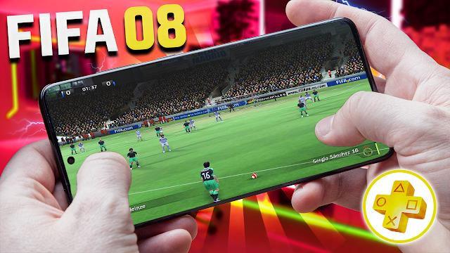 FIFA 08 Para Teléfonos Android (Configuraciones) [ROM PSP]