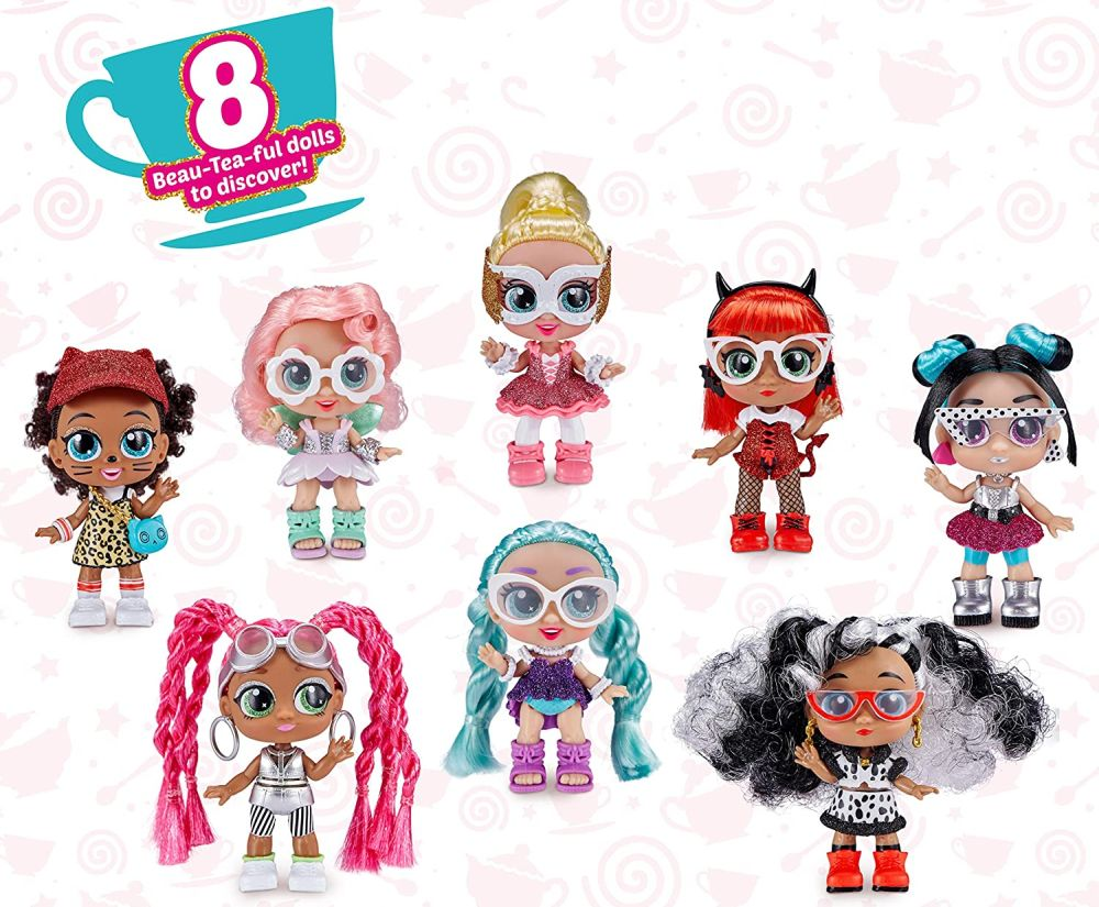 Коллекция кукол из чашек и имена Itty Bitty Prettys