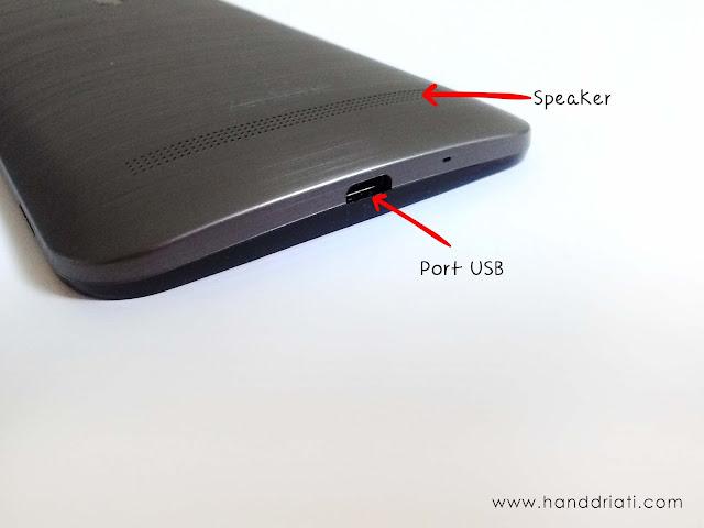 Port USB ASUS Zenfone Selfie