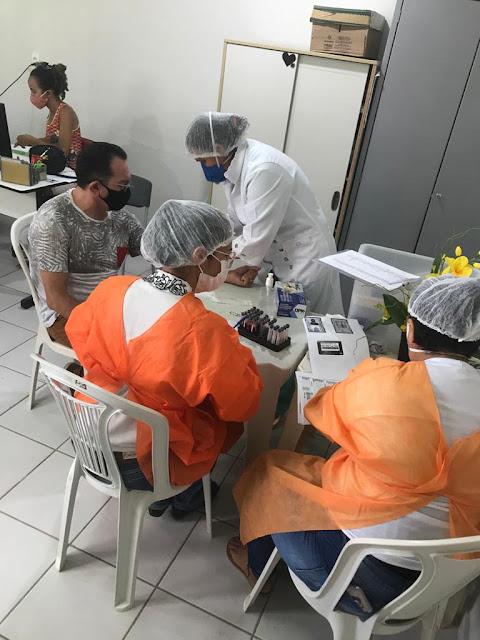 Prefeitura de Caraúbas realizará segunda testagem na equipe da Assistência Social neste sábado