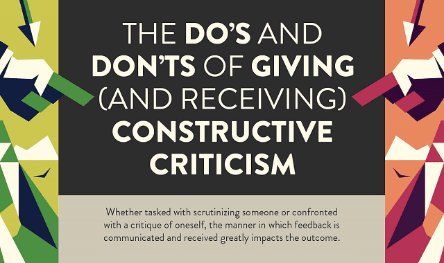 The Do's And Don'ts of Giving (And Receiving) Constructive Criticism