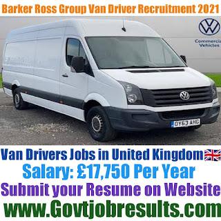 Barker Ross Group Van Driver Recruitment 2021-22