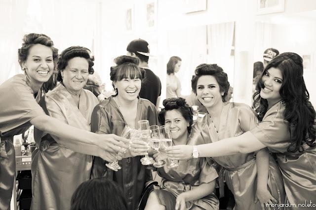 Fotos divertidas para fazer com as madrinhas de casamento