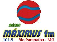 Rádio Maximus FM 101,5 de Rio Paranaíba MG
